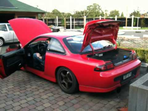 nissan silvia s14a Trust exhaust