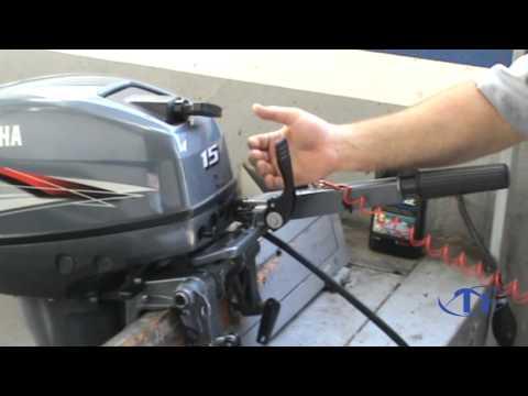 Veja Como Amaciar Seu Motor de Popa do 15hp ao 40hp Yamaha Corretamente