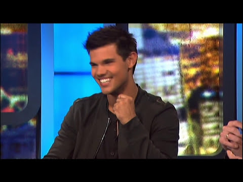 Taylor Lautner interview - The 7pm Project (Australia) - Abduction 2011
