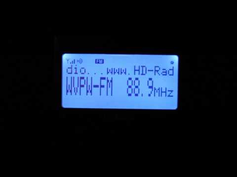 This is the standard Top of the Hour station ID of West Virginia Public Radio, simulcast all across the state on the stations mentioned.