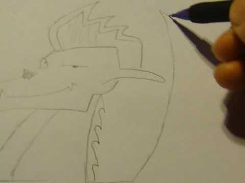 Видео как нарисовать Американского дракона