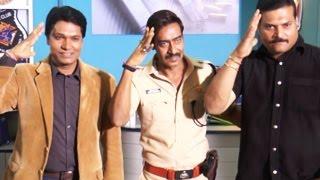 Ajay Devgan Talks about Aata Majhi Satakli Song | Singham Returns
