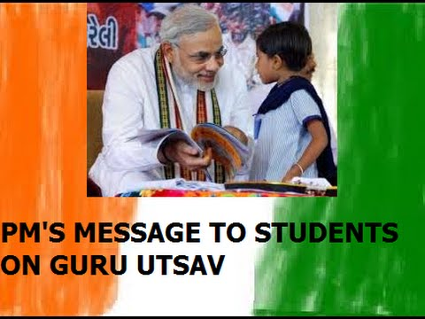 PM Narendra Modi interacts with school children on Teachers' Day (HD)