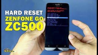 FOrmatar resetar o Asus Zenfone Go ZC500 configurações originais