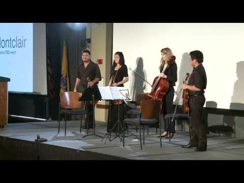 Performance: Montclair State University String Quartet at TEDxMontclair