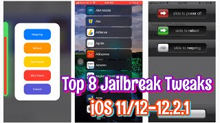 Top 8 BEST Jailbreak Tweaks for iOS 11/12 - 12.1.2 (Cydia&Sileo)