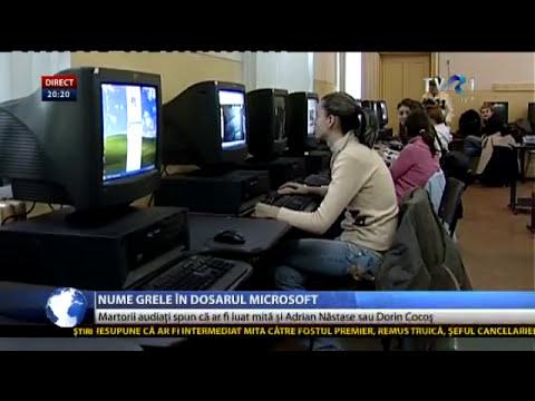 Nume grele în dosarul Microsoft: Adrian Năstase, Victor Ponta sau Dorin Cocoş