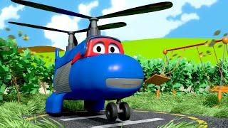 Máy bay chở hàng hóa - Siêu xe tải Carl 🚚 ⍟ l những bộ phim hoạt hình về xe tải dành cho thiếu nhi