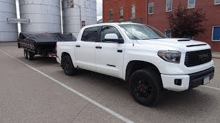 2019 Toyota Tundra TRD Pro, towing trailers in Colorado