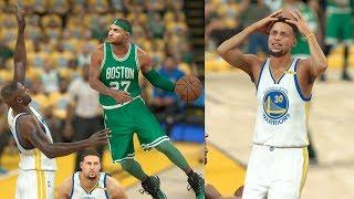 NBA 2K17 My Career - Stephen Curry Fadeaway 3s! NFG3! PS4 Pro 4K