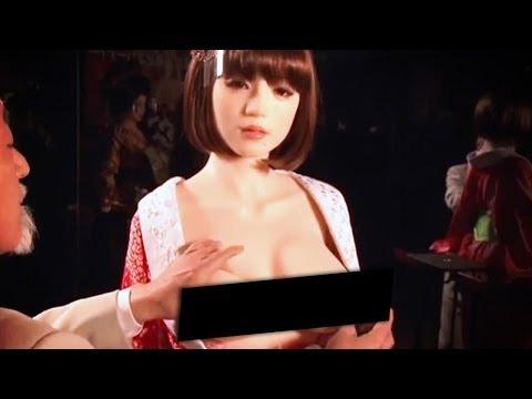 New Sex Doll Dispenses Drinks From Boobs! video