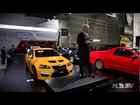 HSV at the 2012 Australian International Motor Show