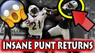 Best Punt Returns in Football History