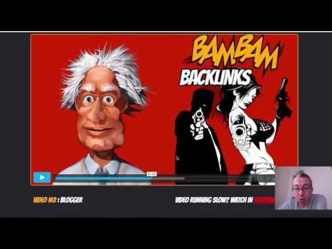 Bam Bam Backlinks Review   How to Rank your Videos on Google by Adam Payne