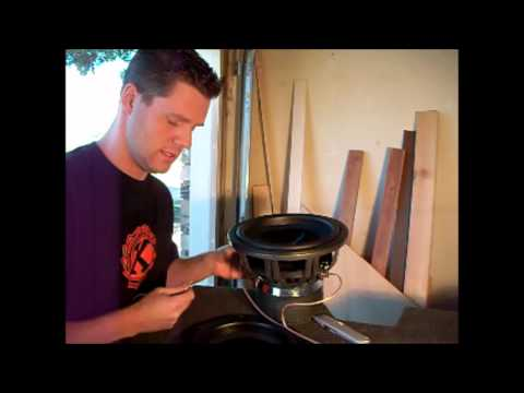 How do you hook up dual voice coil subwoofers