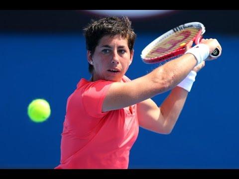 Carla Suarez Navarro vs Kai-Lin Zhang 2014 - Highlights - Dongfeng Motor Wuhan Open