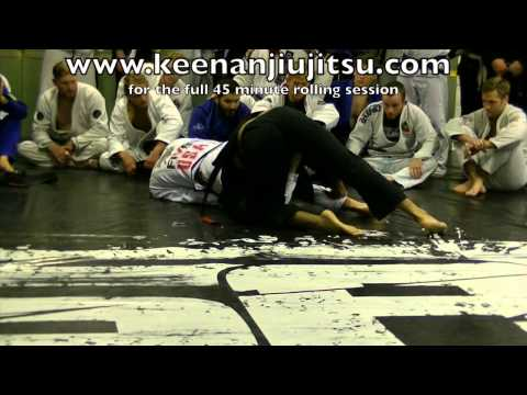 Keenan Cornelius Rolls with 7 black belts no rest.