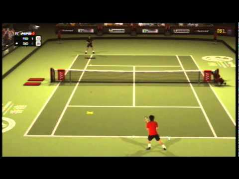 Federer vs Djokovic - Top Spin 4 part 1