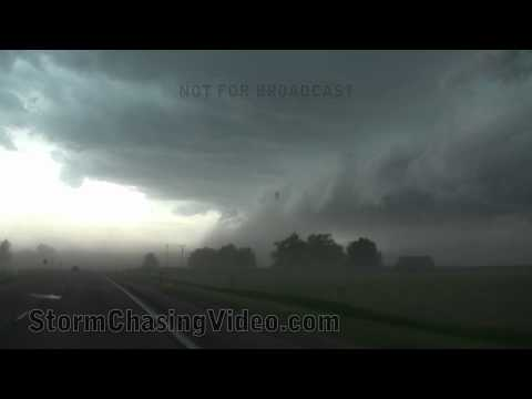 6/16/2011 Gering Nebraska and Northeast Colorado storm chasing footage.