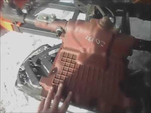 мТз-82 обзор кулисы кпп заводской  и самодельной