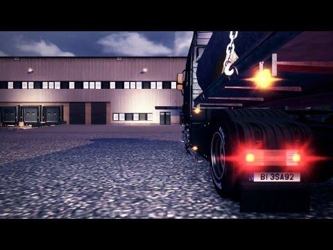 Euro Truck Simulator 2   Mercedes Benz Actros   Europe Map Rebuilding