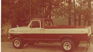 Dads First truck, Lost And Found, 1972 Ford