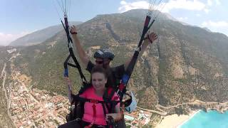 Paragliding from the Babadag mountain - 2015 -