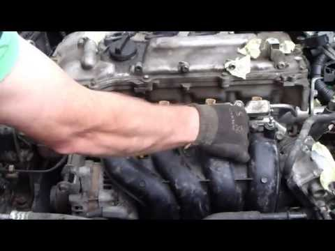 P0171 Replace Intake Manifold Gasket Toyota Matrix | How ...