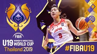 Japan v Germany - Full Game - FIBA U19 Women's Basketball World Cup 2019