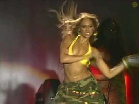 Beyonce Tetas a saltar