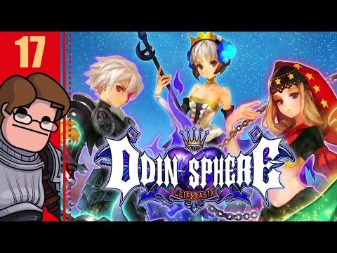 Let's Play Odin Sphere: Leifthrasir Part 17 - General Brigan's Horn