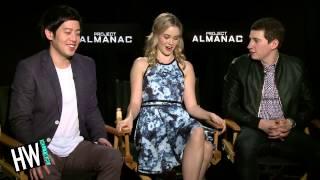 Sam Lerner, Allen Evangelista & Virginia Gardner Talk 'Project Almanac' Behind The Scenes!
