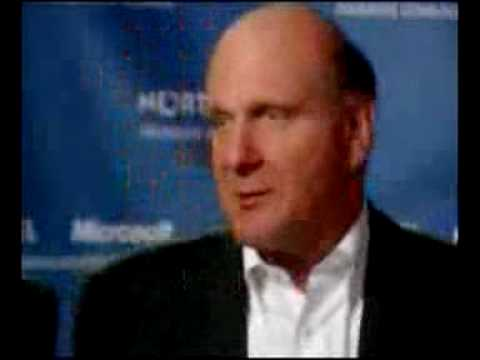 Microsoft CEO Steve Ballmer laughs at Apple iPhone