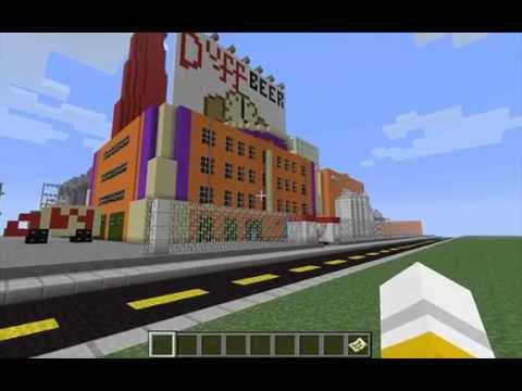 Minecraft Duff Brewery Tour
