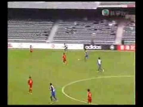 International Friendly Match 18/2/2006 Hong Kong VS India Hong Kong Stadium ��足��誼賽18/2/2006 �港��度�港大�場.
