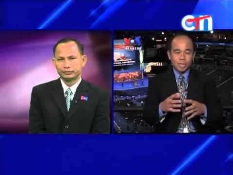 On Eve of Democratic Convention, VOA Khmer's Reasey Poch in Charlotte Reports on CTN