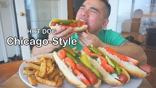 How to make CHICAGO- STYLE HOT DOG