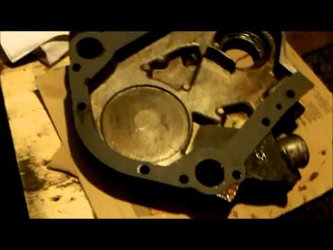 Ford Ranger 3.0 timing chain replacement Part V.wmv