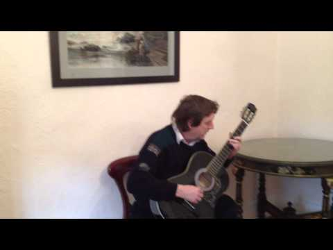 A touch of jazz Mickey Baker played by David Dynon on classical guitar