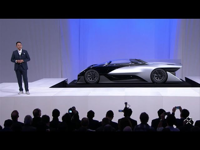 Faraday Future unveils electric​​ ​hyper​car of the future