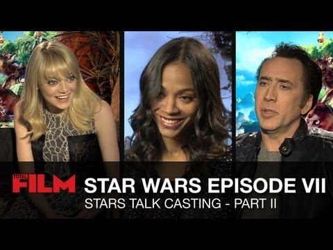 Star Wars Episode 7: Movie Stars Talk - Part 2