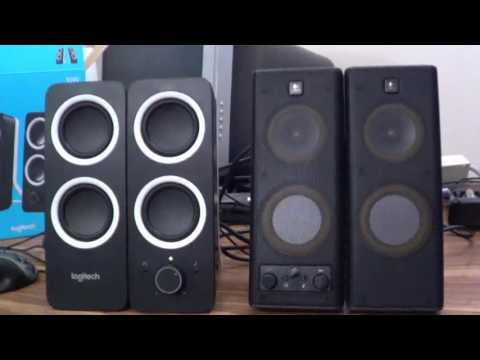 Sloppy Speaker Showdown - Logitech Z200 vs. X140