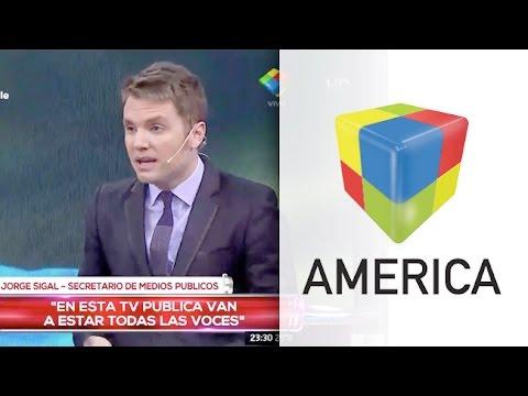 Del Moro discutió fuerte con el director periodístico de Canal 7