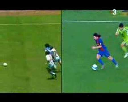 Messi VS Maradona