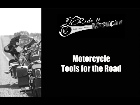 Motorcycle Tools for the Road #1