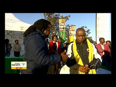 Senzeni Zokwana visits newly opened Tsolo Agricultural College