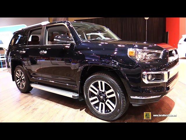 2017 Toyota 4Runner Limited - Exterior and Interior Walkaround - 2017 Toronto Auto Show