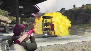 GTA V ONLINE: AMISTADES EXPLOSIVAS