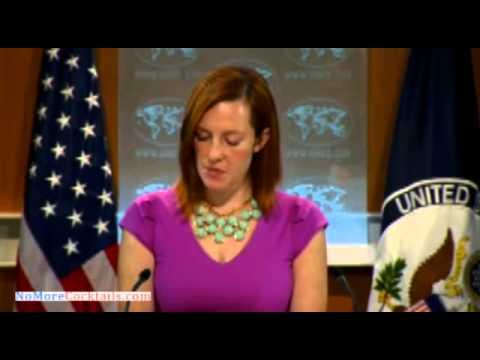 Watch James Rosen hammer State Dept Spokeswoman Jen Psaki over whereabout of Samantha Power