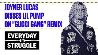 "download lagu Joyner Lucas Disses Lil Pump On ""gucci Gang"" Remix gratis"